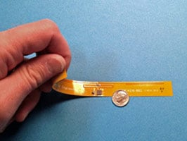 UHF RFID flex sensor