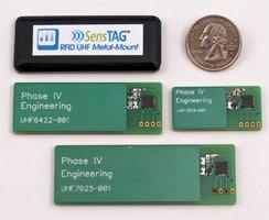 UHF RFID sensor metal mount