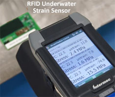 wireless passive RFID strain gauge