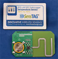 UHF RFID battery-assited passive sensor