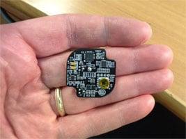 UHF RFID Pressure sensor board