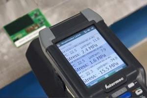 wireless passive RFID strain gauge