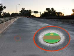 Moisture and Temperature RFID  sensor for roadbeds and bridges