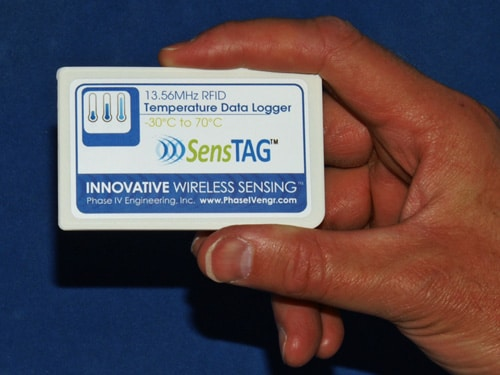Temperature Micro T Data Logger Credit Card Rfid 13 56