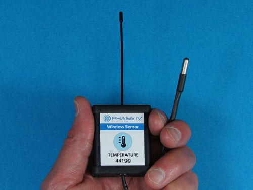 Temperature Data Logger, Credit Card, RFID UHF EPC - Phase
