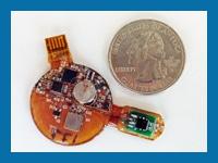 Custom Miniature Temperature Sensor Patch