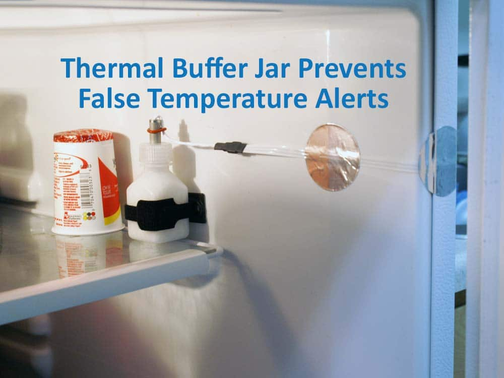 Refrigerator Freezer Thermal Buffer For Wsn Temperature