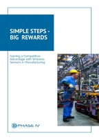 cover of eBook about wireless sensors in manufacturing